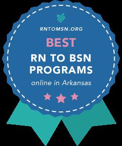 Badge for the Best RN-BSN Programs in Arkansas