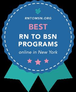 Rankings Award Badge for the Best RN-BSN Programs in New York
