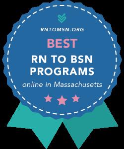 Rankings Award Badge for the Best RN-BSN Programs in Massachusetts