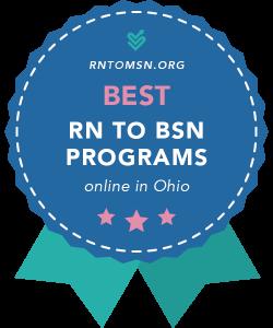 Rankings Award Badge for the Best RN-BSN Programs in Ohio