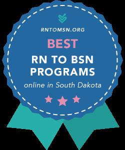 Badge for the Best RN-BSN Programs in South Dakota